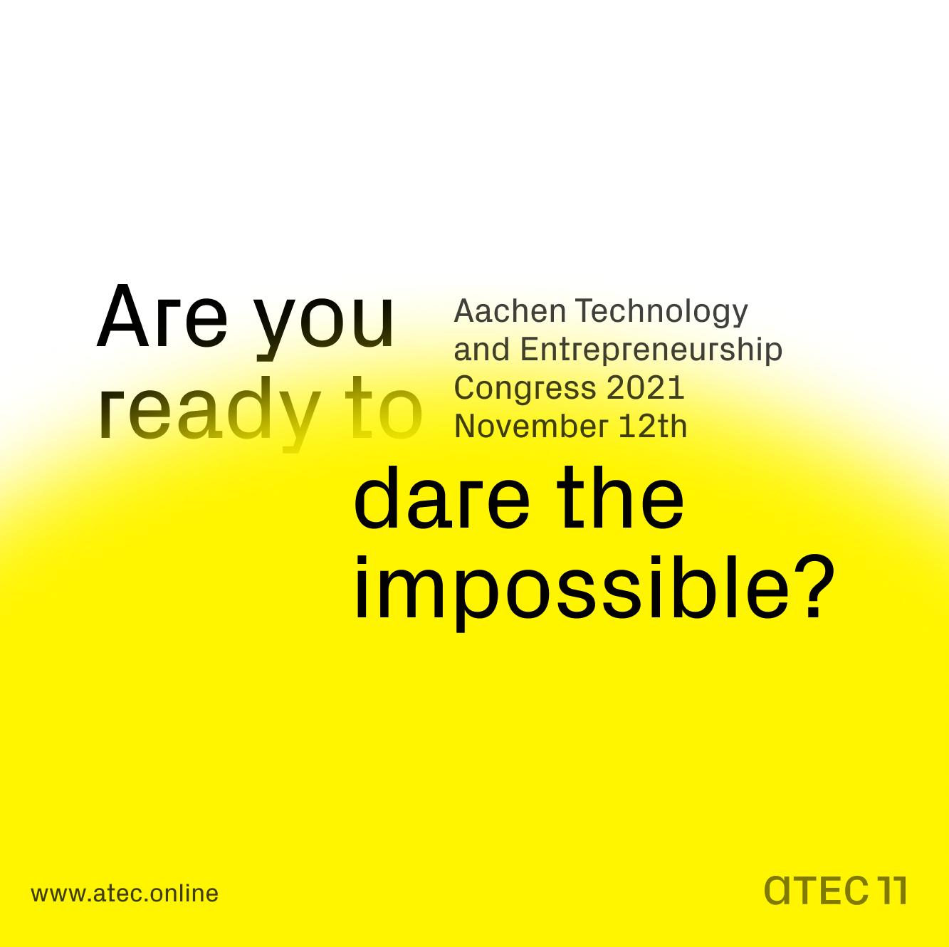 ATEC   Aachen Technology and Entrepreneurship Congress